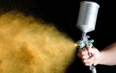 Pistolet malarski automatyczny